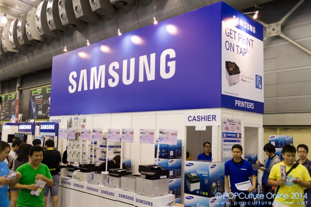 SITEX 2014 - Samsung Booth
