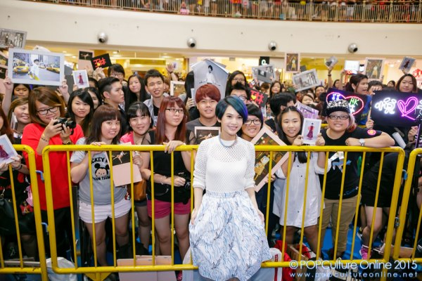 Rainie Yang 杨丞琳 Singapore Autigraph Compass Point 03