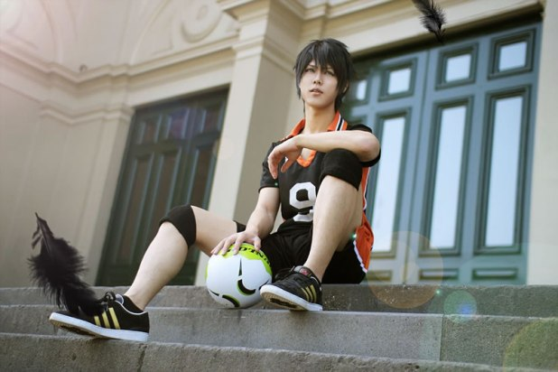 DBS Marina Regatta Dat-Baka as Kageyama from Haikyuu