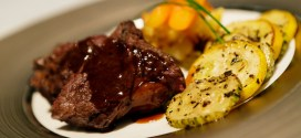 Fathers Day at Caffe B Wagyu Rump and Potato Gratin