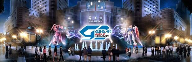 Gundam Docks Ngee Ann City Singapore Artist Impression