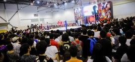 CharaExpo 2015 Pro-Wrestling Ring Area