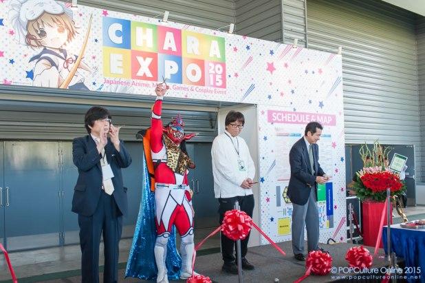 CharaExpo 2015 Takaaki Kidani Masaya Hasebe Yoichi Takahashi Jushin Thunder Liger