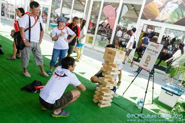 DBS Marina Regatta 2015 Activities Giant Jenga