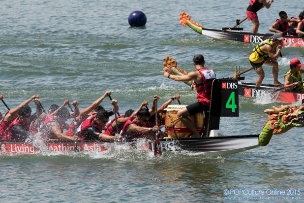 DBS Marina Regatta 2015 Dragon Boat Race