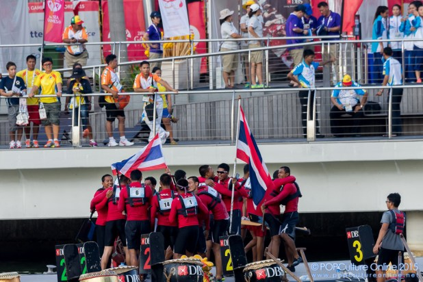 SEA Games 2015 500m Traditional Boat Race Team Thailand