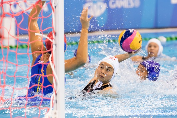 SEA Games 2015 OCBC Aquatic Centre Women Singapore vs Philippines