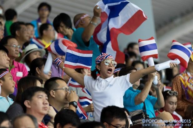 SEA Games 2015 Women Water Polo Final Thailand Singapore OCBC Aquatic Centre (2)