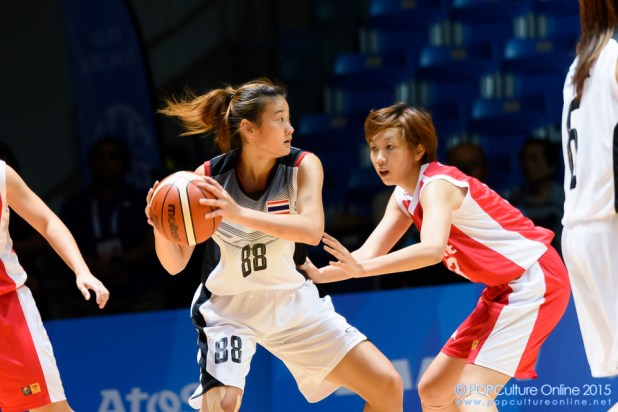 SEA Games 2015 Womens Basketball Singapore Thailand