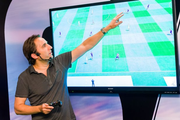 FIFA 16 Hands On Preview Event Producer Matt Prior 02