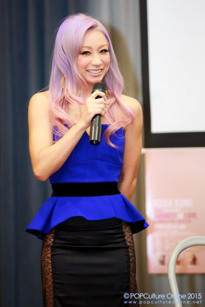 Koda Kumi Asia Live 2015 Singapore Press Conference