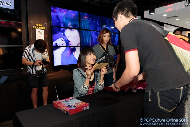 LiSA in Sony Store Always (2)