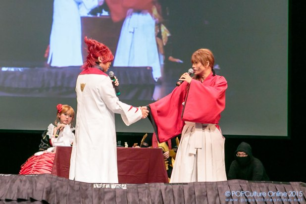ICDS 2015 Singapore Annual Cosplay Chess Performance Himura Kenshin Leon Luis
