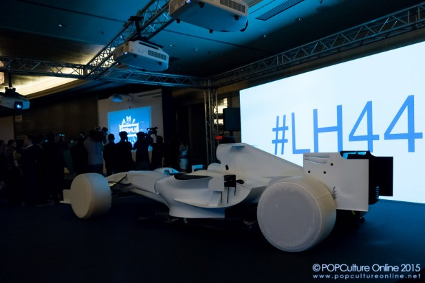 Epson EB-1430wi Interactive Projector Lewis Hamilton #LH44 Hashtag Formula One Car