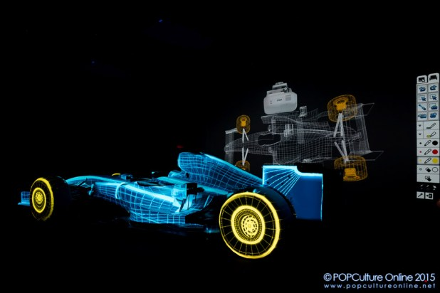 Epson EB-Z Series Projectors Projection Mapping Display Formula One Car (4)