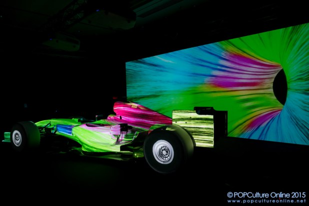 Epson EB-Z Series Projectors Projection Mapping Display Formula One Car (5)