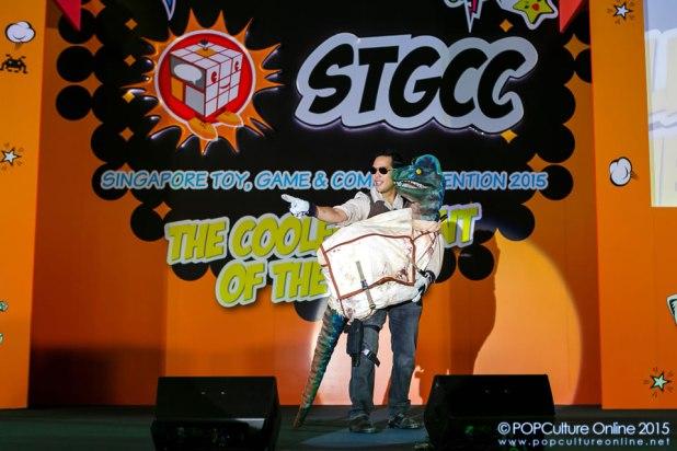 STGCC 2015 Championships of Cosplay Jurassic Park Ranger