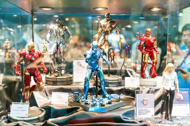 STGCC 2015 Hot Toys Action City Marvel Iron Man