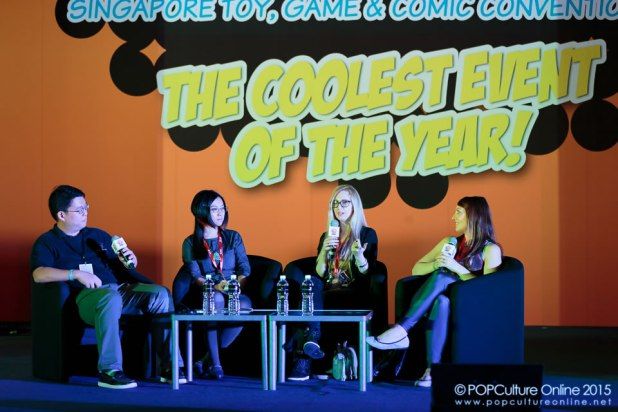 STGCC 2015 Stage Panel Women in Comics in the 21st Century Agnes Garbowska Camilla d'Ericco