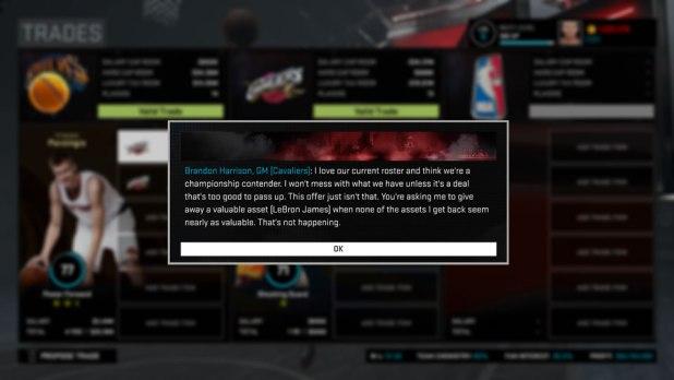 NBA 2K16 Trade_Feedback