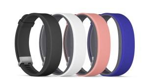 Sony Smartband 2 Straps Black White Pink Blue Colour