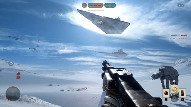 Star Wars Battlefront Beta Screen Shot 01