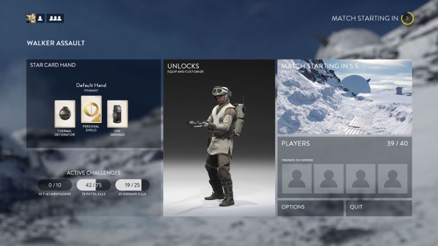 Star Wars Battlefront Beta Screen Shot 07