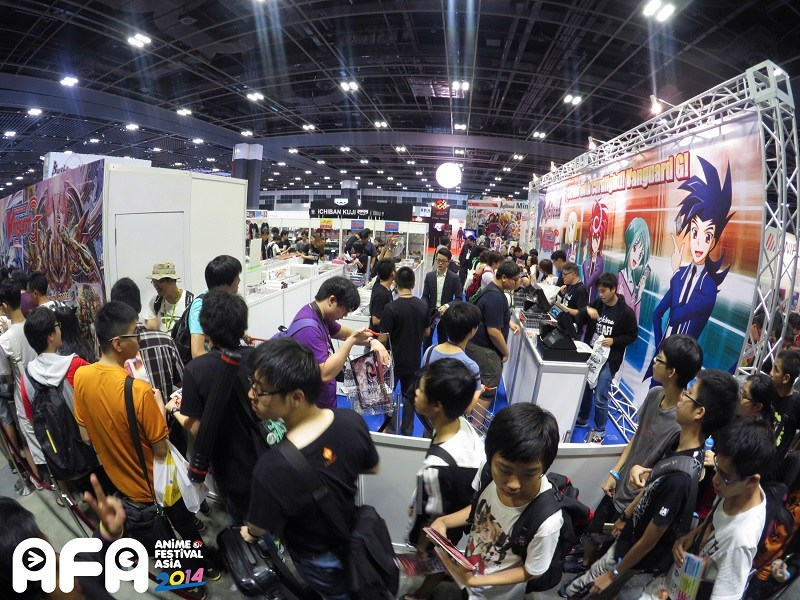 Anime Festival Asia Singapore AFASG 2014 Booths Merchandise