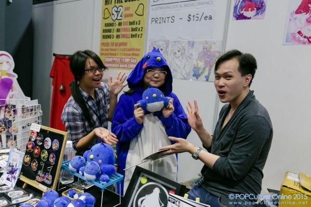 Anime Festival Asia Singapore AFASG 2015 Daiyaku Booth Creators Hub