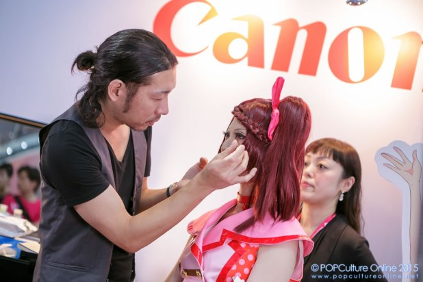 Anime Festival Asia Singapore AFASG 2015 Level 3 Stage BCL Cosmetics Demo