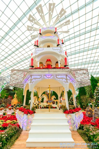 Christmas Wonderland Gardens by the Bay 2015 Christmas Toyland Floral Display at the Flower Dome 01