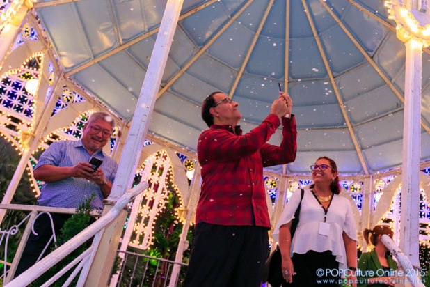 Christmas Wonderland Gardens by the Bay 2015 Opening Ceremony Mr S Iswaran Snow Time