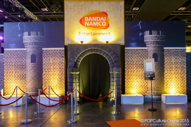 GameStart 2015 Bandai Namco Entertainment Asia Booth Entrance