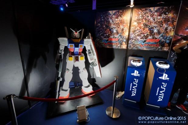 GameStart 2015 Bandai Namco Entertainment Asia Booth Gundam
