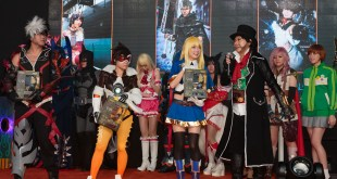GameStart 2015 Game On! Cosplay Runway Johnny Junkers Cosplay Inc Tuna Karin Acanthastar Cosplay
