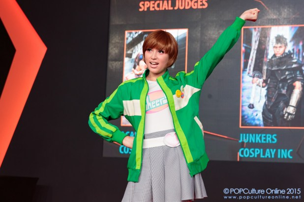 GameStart 2015 Game On! Cosplay Runway Persona 4 Chie Satonaka