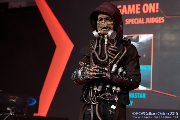 GameStart 2015 Game On! Cosplay Runway batman arkham scarecrow