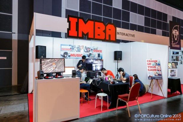 GameStart 2015 IMBA Interactive Booth