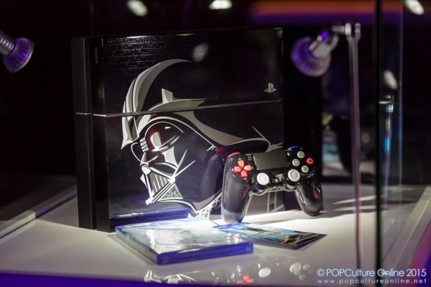 GameStart 2015 PlayStation Booth Experience Darth Vader Limited Edition PlayStation 4 set