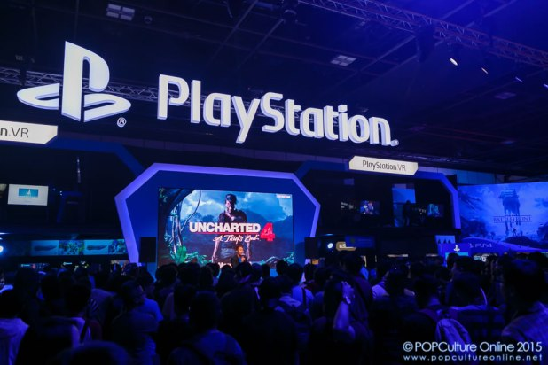 GameStart 2015 PlayStation Booth Experience Mini Stage