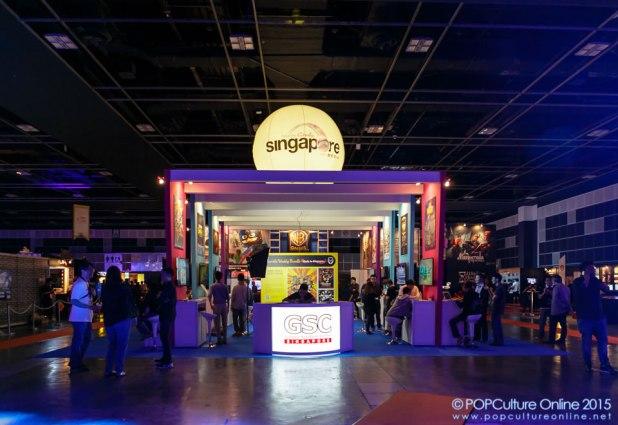 GameStart 2015 Singapore GameBox Booth
