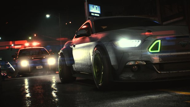 Need For Speed 2015 Screen Shot Mustang Outlaw