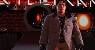 WWE 2K16 Screen Shot The Terminator Arnold Schwarzenegger Entrance