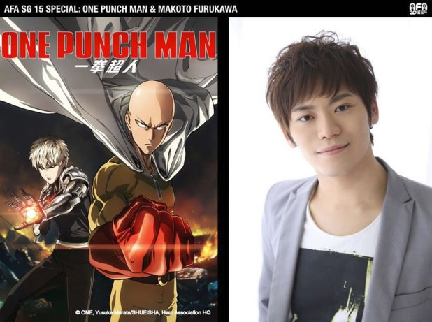 afasg 2015 makoto furukawa one punch man saitama voice actor