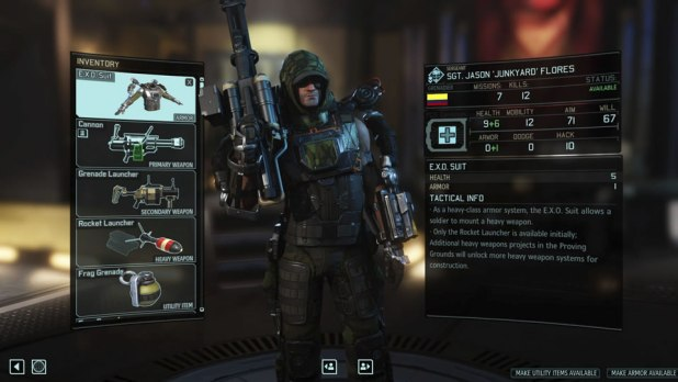 XCOM 2 Screen Shot 04 Soldier Loadout