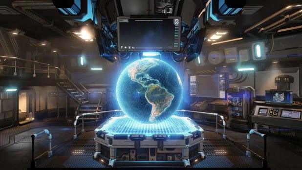 XCOM 2 Screen Shot 06 Command Room