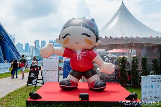 DBS Regatta 2016 Mascot