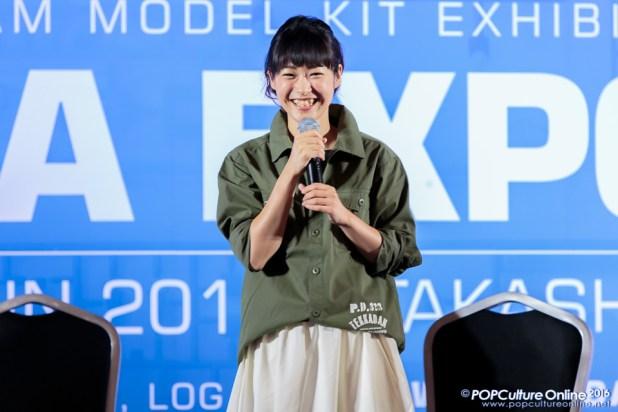 Gunpla Expo 2016 Stage Segment Yuka Terasaki 01