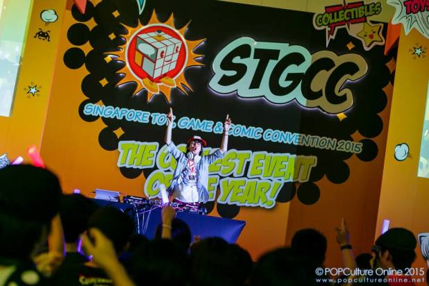 Looking Forward to STGCC 2016 DJ Night