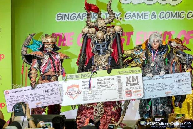 STGCC 2016 Championshops of Cosplay Winners